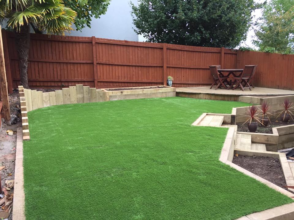 Garden Transformation, Portishead - Green Valley Garden Solutions